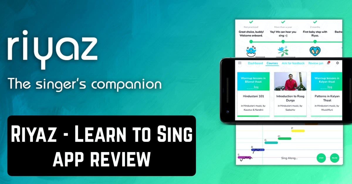 Riyaz - Learn to Sing app review