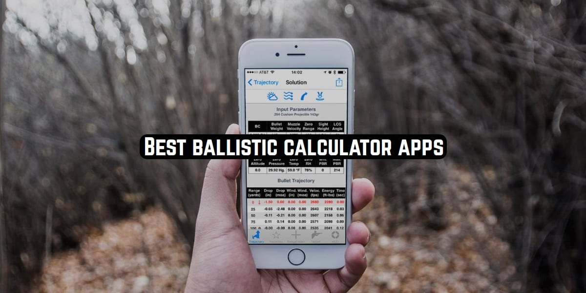 ballistic calculator apps