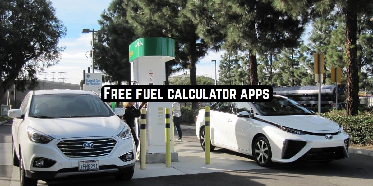 fuel calculator apps