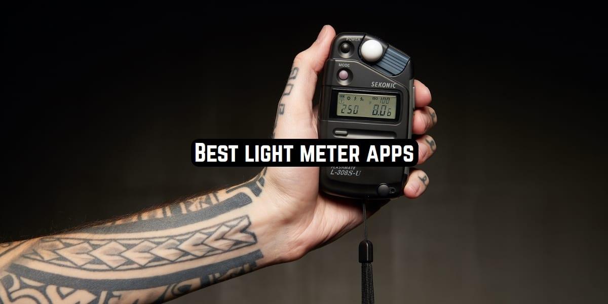light meter apps