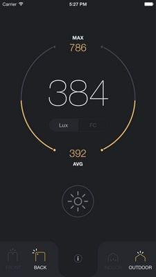 lux light meter pro2