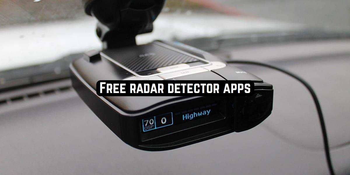 radar detector apps