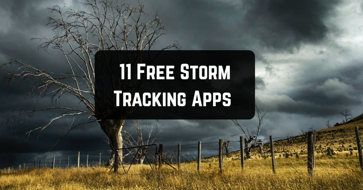 11 Free Storm Tracking Apps