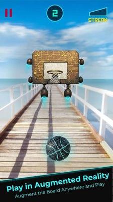 AR Dunk Augmented Reality Basketball Game2