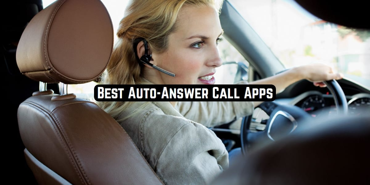 Auto-Answer Call Apps