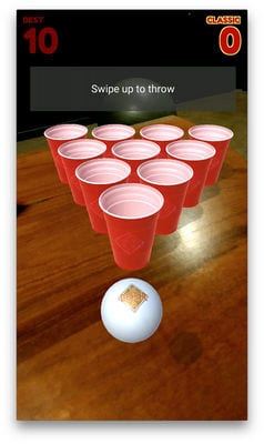 Beer Pong AR1