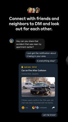 Citizen Connect on the Most Powerful Safety App1