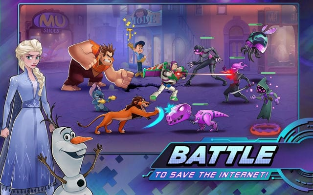 Disney Heroes Battle Mode1