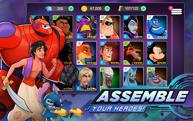 Disney Heroes Battle Mode2