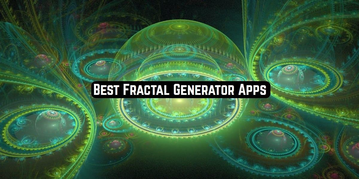 Fractal generator apps