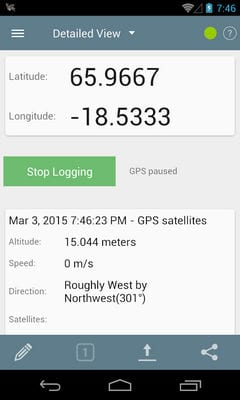 GPS Logger for Android1