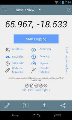 GPS Logger for Android2