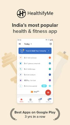 HealthifyMe - Calorie Counter, Home Workout & Weight Loss Plans1