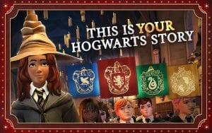 Hogwarts Mystery screen 1