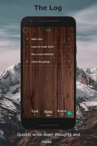Journal Companion screen 1