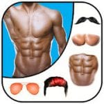 Man Abs Editor Men Six pack, Eight pack man style