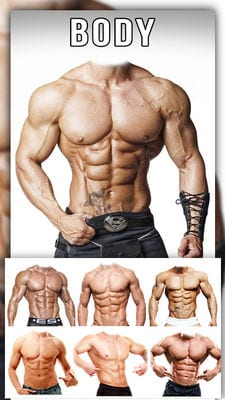 Man Abs Editor Men Six pack, Eight pack man style2