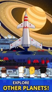 Rocket Star - Idle Space Factory Tycoon Game1