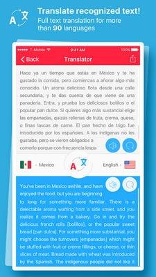 Scan & Translate+ Text grabber2