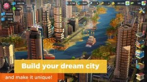 SimCity screen 1