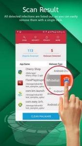 Systweak Anti-Malware - Free Mobile Phone Security2