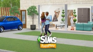 The Sims Freeplay screen 1