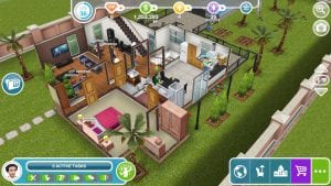 The Sims Freeplay screen 2