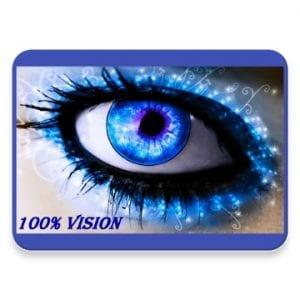 100% vision Bates method