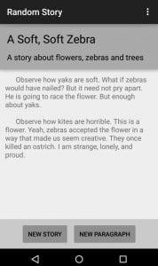 Random Story Creator