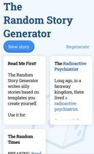 The Random Story Generator