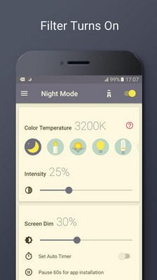 Blue Light Filter - Night Mode, Night Shift by Leap Fitness Group1