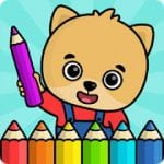 Coloring book for kids by Bimi Boo Kids