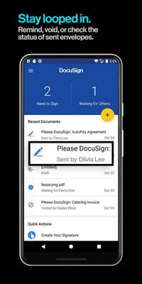 DocuSign - Upload & Sign Docs1