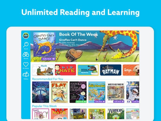 Epic Kids' Books & Educational Reading Library1