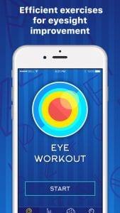 Eye Workout screen 1