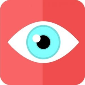 Eyes recovery workout logo