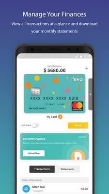 FEVO Prepaid Mastercard®1