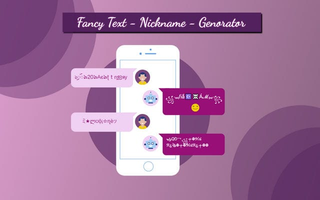 Fancy Text - Nickname Generator1