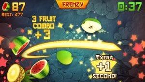 FruitNinja screen 1