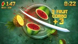 FruitNinja screen 2