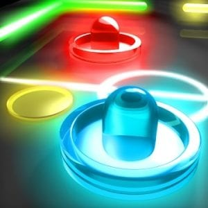 GlowHockey 2 logo