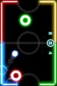 GlowHockey 2 screen 1