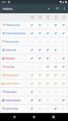 Loop Habit Tracker2
