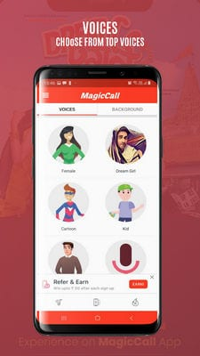 MagicCall - Voice Changer App1