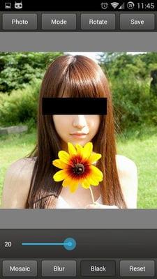 Mosaic Pixelate Censor Photo2