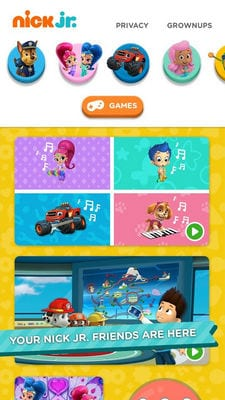 Nick Jr. - Shows & Games1