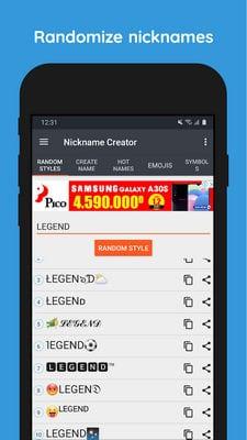 Nickname Creator For FF1