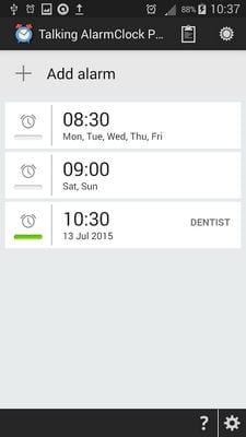 Talking Alarm Clock Pro Free1