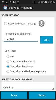 Talking Alarm Clock Pro Free2