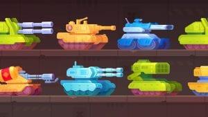 Tank Stars screen 1